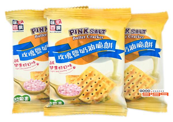 【吉嘉食品】味覺百撰 玫瑰鹽奶油脆餅 600公克,產地馬來西亞 {VT201}[#600]