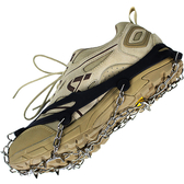 10齒錳鋼防滑鞋套冰爪雪地戶外登山鞋錬冰抓冬季雪爪釘鞋簡易釘爪 台北日光