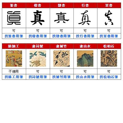 LSY林三益精選50元大楷毛筆