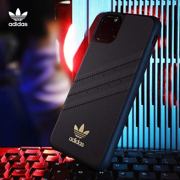 【adidas】Originals Samba Premium 皮革xTPU 保護殼iPhone11 / 11Pro 運動時尚 正品公司貨