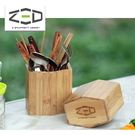 ZED 竹製餐具組 ZBACC0105 /  城市綠洲 (調味料、儲存收納、餐具筷子湯叉)