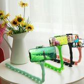 手機支架 懶人手機支架 創意懶人支架  八爪魚直播自拍三角架 萌蟲百變支架-YSDJ417
