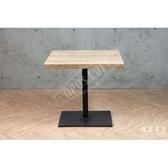 復古工業風 原木 餐桌【TC-8070】80X70X75W80 x D70 x H7