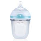 【奇買親子購物網】Nuby Comfort 寬口徑防脹氣矽膠奶瓶 150ml