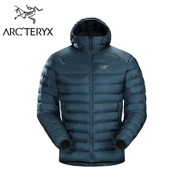 Arc'teryx 始祖鳥 CERIUM LT 羽絨連帽外套 男款 迷惑藍  #18013