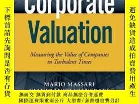 二手書博民逛書店Corporate罕見Valuation: Measuring the Value of Companies in