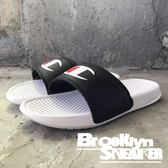 CHAMPION 黑白雙色 大LOGO 拖鞋 男女 (布魯克林) 2018/7月 733250110