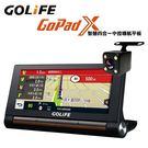 送32GB 附倒車顯影鏡頭【福笙】GOLiFE GoPad X 聲控衛星導航 行車記錄器 無線藍芽 Wi-Fi更新圖資