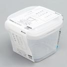 日本製【Inomata】深型方型保鮮盒 430ml*2入 W /1815