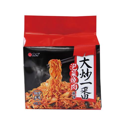維力大炒一番泡菜燒肉風味85g*4【愛買】