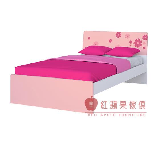 [紅蘋果傢俱] AKW01 兒童家具 兒童床 單人床 4尺 5尺床 多色可選 (免組裝費)