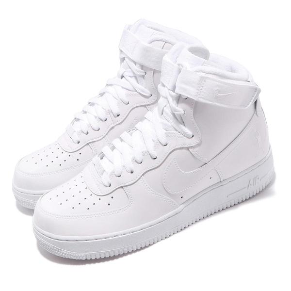 Nike 休閒鞋 Air Force 1 Low Retro QS Rasheed Wallace 白 全白 男鞋 運動鞋【PUMP306】 743546-107