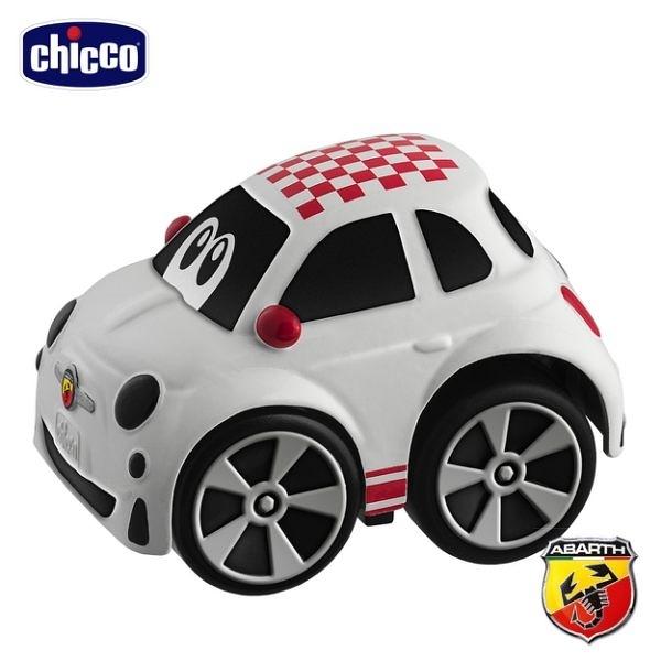 【愛吾兒】Chicco-FIAT 500 經典迴力車-紅格紋