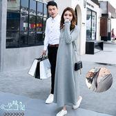現+預 圓領純色後綁帶孕婦哺乳(開扣式)洋裝 兩色【CRH850202】孕味十足。孕婦裝