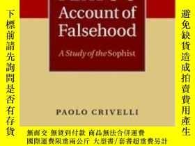二手書博民逛書店Plato s罕見Account Of FalsehoodY255562 Paolo Crivelli Cam