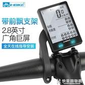 INBIKE騎行碼表無線夜光防水中文邁速表山地公路自行車計數測速器  快意購物網