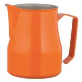 金時代書香咖啡 MOTTA 專業拉花杯 奶泡杯 350ml 橘  HC7092OR