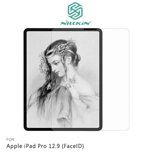 摩比小兔~NILLKIN Apple iPad Pro 12.9 (FaceID) AR 畫紙膜 保護貼 螢幕貼