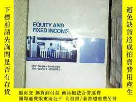二手書博民逛書店Equity罕見and Fixed Income 2015 5