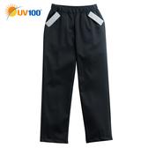 UV100 防曬 抗UV 防風保暖-內刷毛休閒褲-童