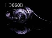 ☆唐尼樂器︵☆ SUPERLUX HD668B 錄音室專業半封閉式監聽耳機(代替監聽喇叭)