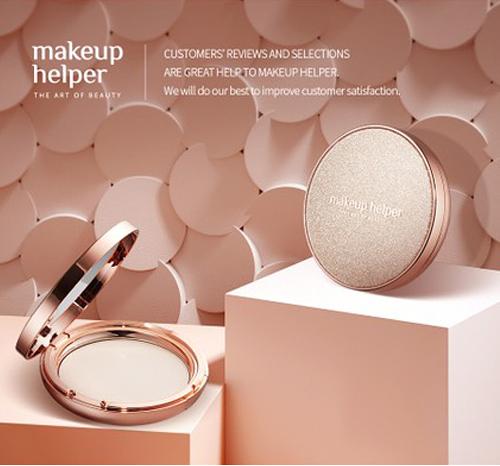 韓國Makeup Helper 藝術控油粉餅 蜜粉餅 23G (圖殼25-60-2號)