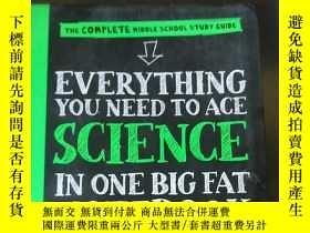 二手書博民逛書店Everything罕見You Need to Ace Science in One Big Fat Notebo