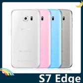 三星 Galaxy S7 Edge 半透糖果色清水套 軟殼 超薄防滑 矽膠套 保護套 手機套 手機殼
