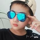 Ardor.歐美風細框橢圓小孩兒童抗UV400水銀偏光太陽眼鏡【f5075】911 SHOP