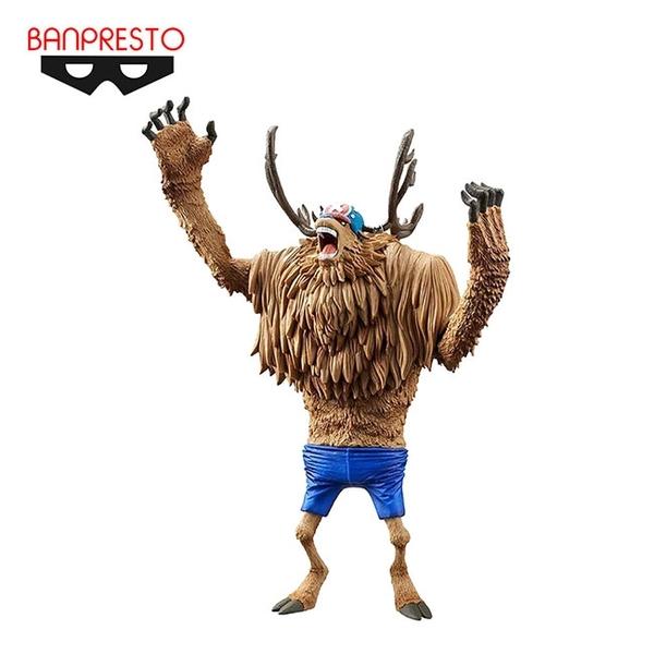 【日本正版】喬巴 獸化型態 公仔 模型 20cm 海賊王 航海王 Banpresto 萬普 KING OF ARTIST - 966435