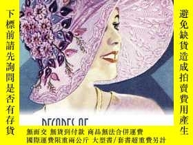 二手書博民逛書店Decades罕見of Hats : 1900 to the 1