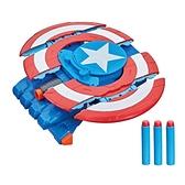 漫威復仇者聯盟機械盔甲系列-美國隊長發射器 玩具反斗城