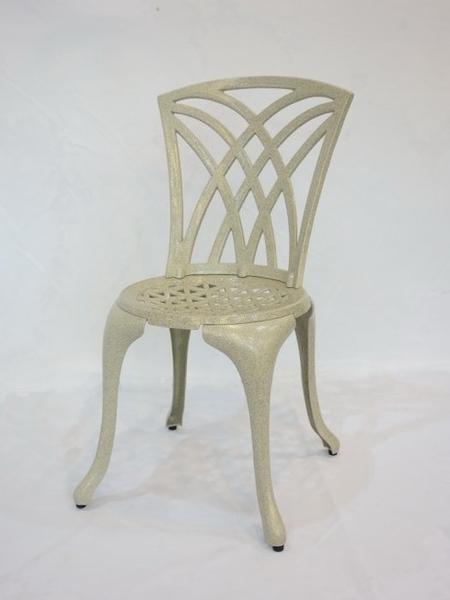 【南洋風休閒傢俱】戶外休閒桌椅系列-三角形鋁餐椅  戶外鋁合金餐椅(#126C)
