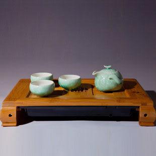 定窯結晶茶具
