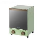 電烤箱烤家用多功能烘焙家庭迷小型迷你復古立式12升【快速出貨】