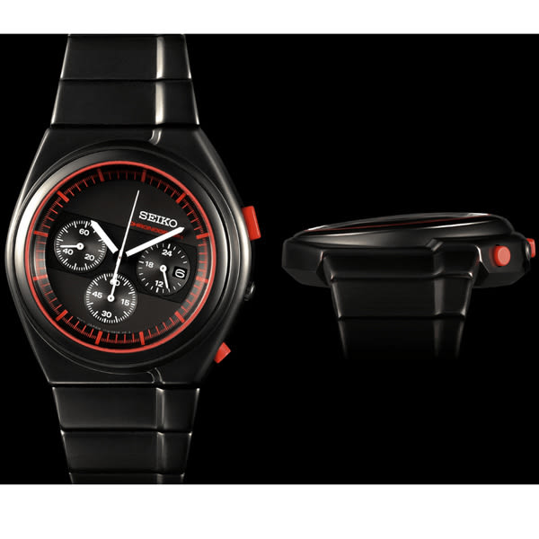全台限量100支 SEIKO 精工 GIUGIARO DESIGN 聯名設計限量計時碼錶 7T12-0CD0R(SCED055J)