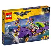樂高積木LEGO《 LT70906 》Batman Movie 蝙蝠俠電影 : The Joker™ Notorious Lowrider