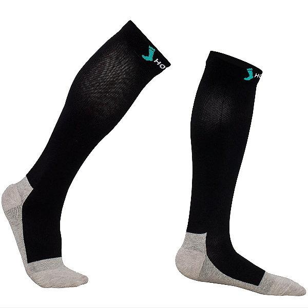 HOYISOX HYS1男女商業人士銀纖維襪 20-30mmHg 美國x-static銀纖維 久站外勤快速恢復釋放壓力壓縮加壓襪