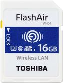 [富廉網] 【Toshiba】FlashAir 16GB SDHC UHS-I U3 R90 記憶卡 THN-NW04W0160A6