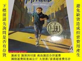 二手書博民逛書店Maniac罕見Magee 瘋狂法師Y9212