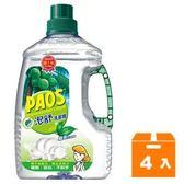 PAOS泡舒 洗潔精-綠茶 2800g (4入)/箱
