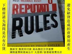 二手書博民逛書店Reputation罕見Rules Strategies for