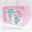 ﹝雙子星45週年多功能面紙盒﹞正版 面紙盒 收納盒 置物盒 木櫃 雙子星〖LifeTime一生流行館〗