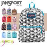 JANSPORT經典後背包包 JS-435系列-多花色