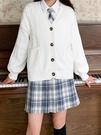 百褶裙jk制服掉落半身裙子全套一套校供格裙 korea時尚記