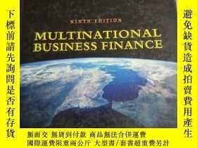 二手書博民逛書店Multinational罕見Business Finance
