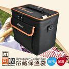 冷藏保溫袋(側背+手提)大容量 保溫 冷藏 保鮮 防水【DouMyGo汽車百貨】