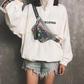 胸包 新款韓版潮時尚運動跑步百搭斜挎小腰包ins個性時髦