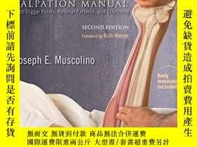二手書博民逛書店The罕見Muscle and Bone Palpation Manual with Trigger Point,