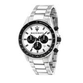 MASERATI 瑪莎拉蒂 質感三眼計時腕錶44mm(R8873640003)